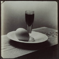 Josef Sudek, Still Life: Egg, Glass