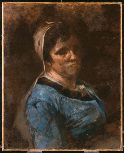 Woman Painted at Palavas 1854