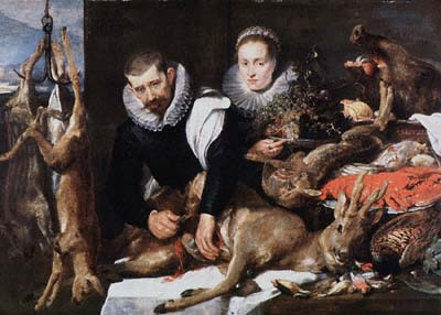 Still Life with Figures
