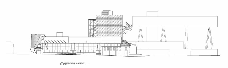 New building architectural drawings ago art gallery of for Architecture elevation
