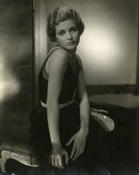 Actress Joan Bennett, 1928. Gelatin silver print. Courtesy Condé Nast Archive, New York. © 1928 Condé Nast Publications
