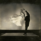 The renowned ballroom dancing team Antonio de Marco and Renée de Marco, 1935