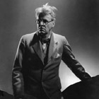 Poet William Butler Yeats, 1932
