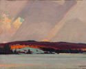 John William Beatty (Canadian, 1869 - 1941), <em>Frozen Lake, Northern Ontario</em>, 1928, oil on canvas. Bequest of Ambia L. Going, 1938. © 2012 Art Gallery of Ontario.