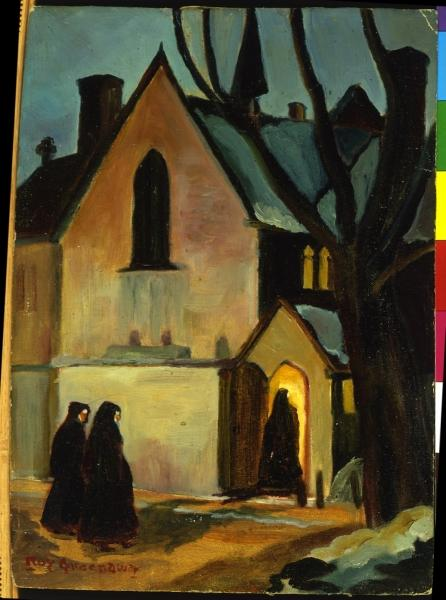 Clarence Roy Greenaway. Nuns at Holy Trinity Church