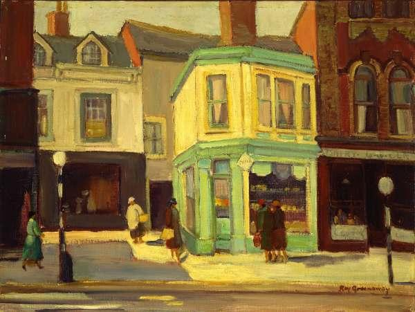 Clarence Roy Greenaway. Queen Street West, near Spadina