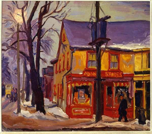 Robert Frederick Hagan. Dundas and Seaton Streets, Winter, 1939
