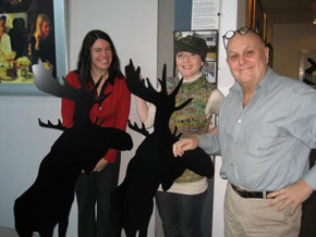 Cath Campbell of ArtsAccess and Robin Elliott of [murmur] spend a morning with artist Charles Pachter