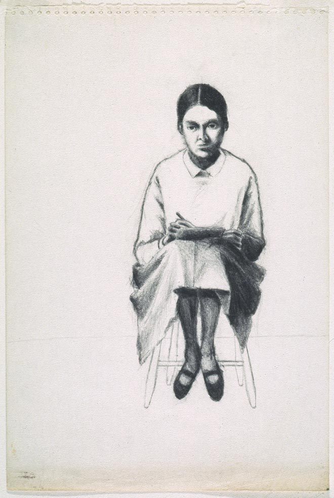 Christiane Pflug, Self Portrait, 1964
