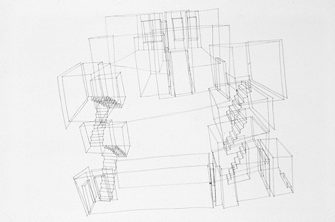 Alex Morrison, Every House I've Ever Lived In (Drawn from Memory), 1999–2002