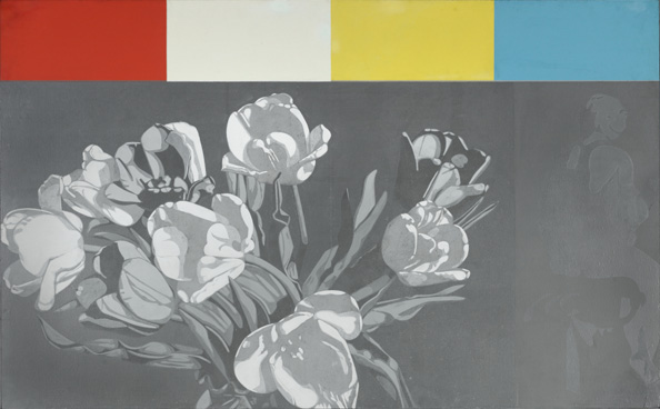 Jack Chambers, Tulips with Colour Options, 1966