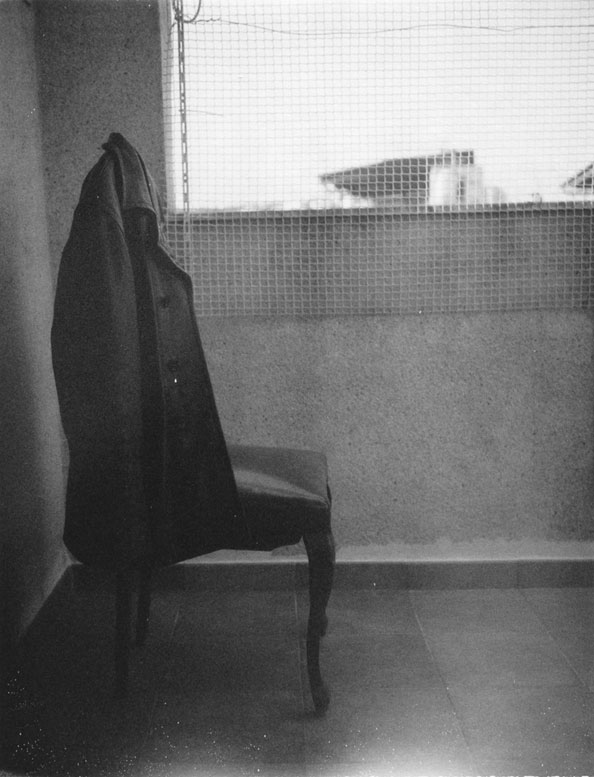 Patti Smith, Roberto Bolaño's Chair 2, 2010