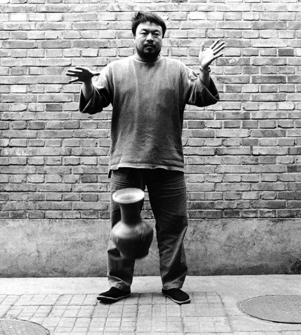 Ai Weiwei, Dropping a Han Dynasty Urn (detail), 1995/2009