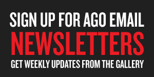 sign up for AGO newsletters