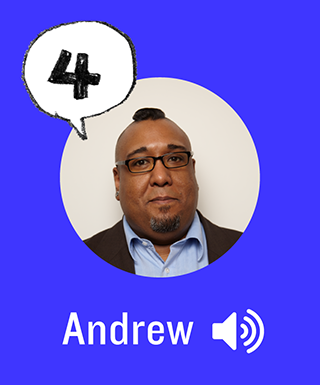 listen to andrew's story