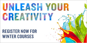 Unleash your creativity - Winter Courses and Workshop Registration